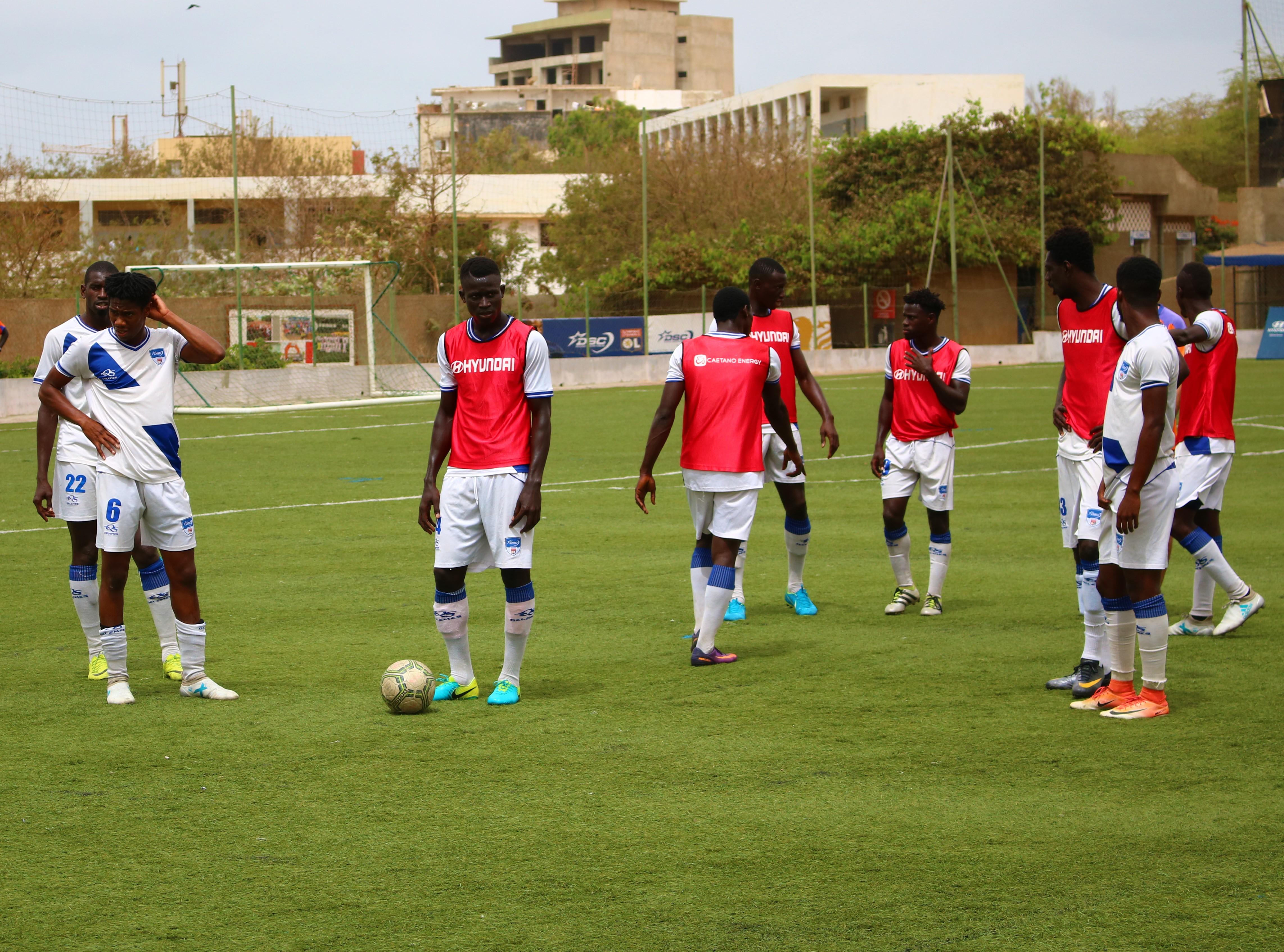 équipe Dakar Sacré-Coeur